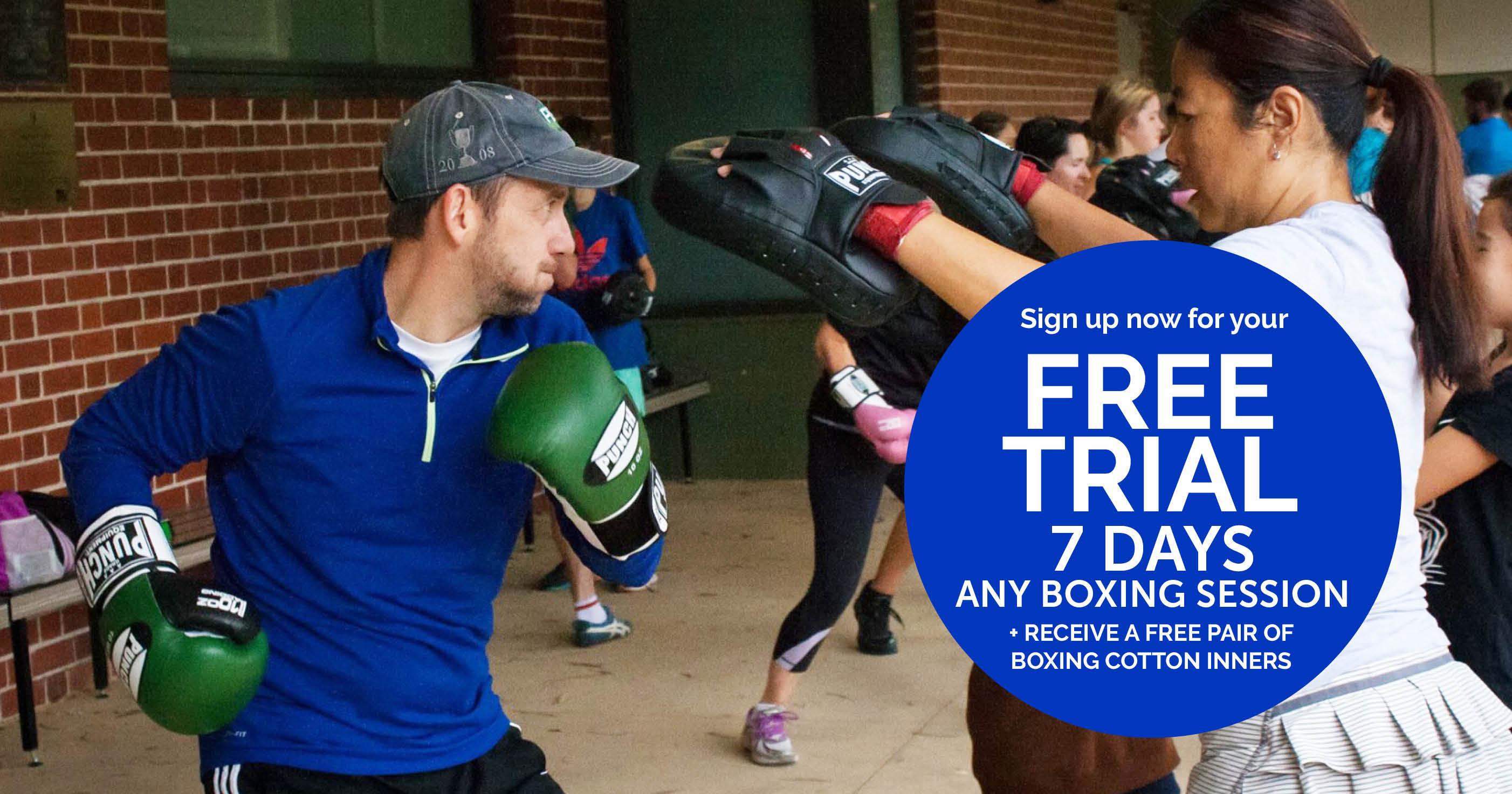 Free Boxing Trial Kew