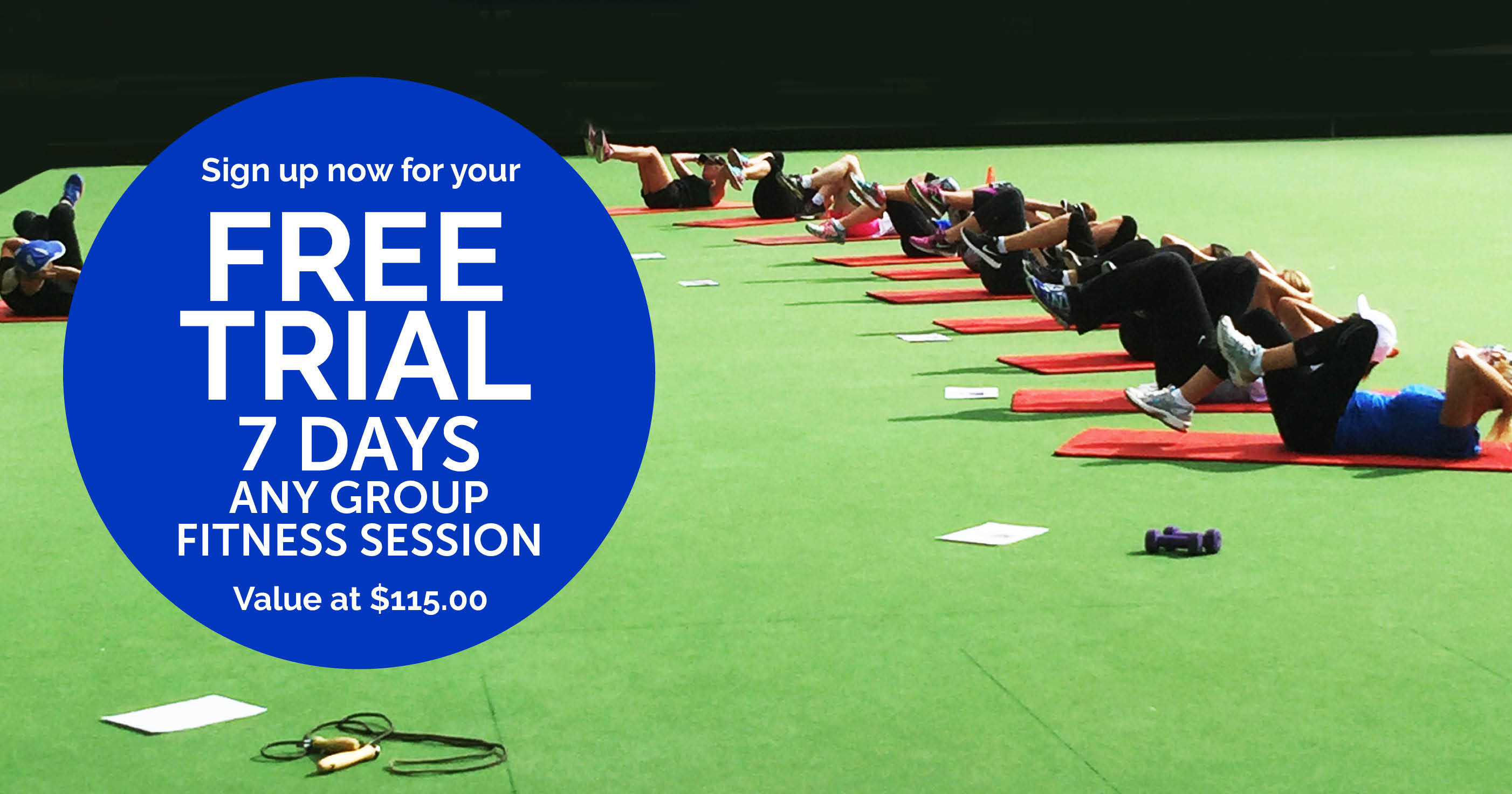 7 Day Free Trial Group Fitness Kew